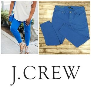 Royal Blue Toothpick Skinny Jeans by J. Crew